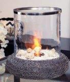 Glasfeuer Kamin