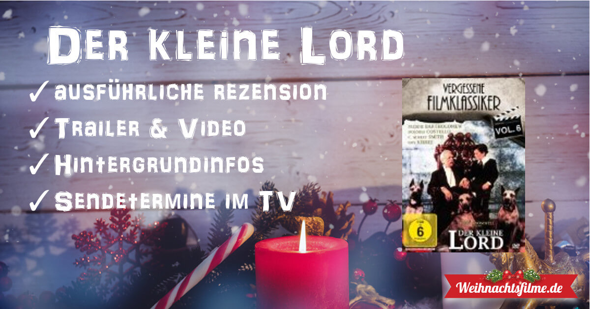 der kleine lord top rezension trailer. Black Bedroom Furniture Sets. Home Design Ideas