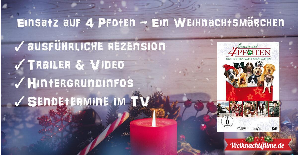 Einsatz auf 4 Pfoten - ein Weihnachtsmärchen ▷ Top-Rezension ...