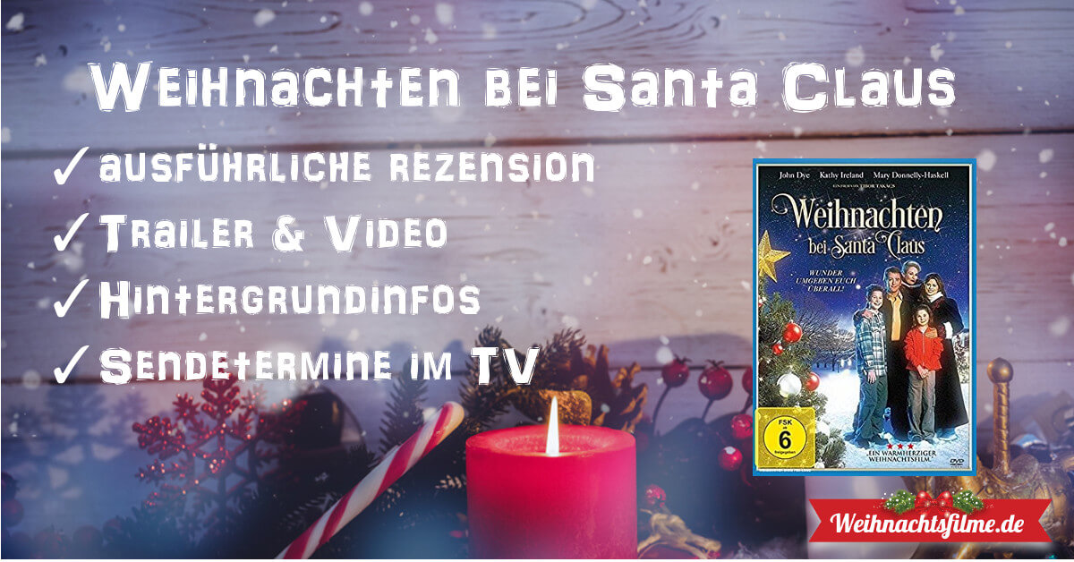 Weihnachten bei Santa Claus ▷ Top-Rezension & Trailer ...